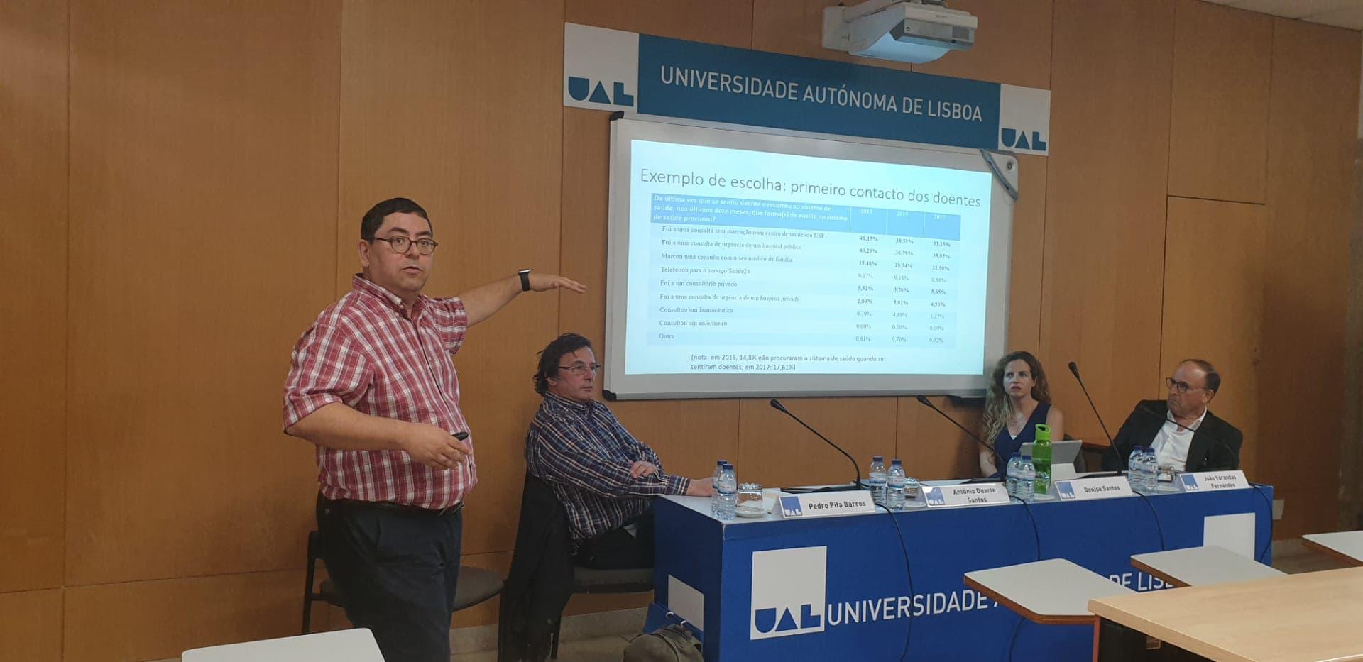 """Conferência """"A Saúde em Portugal: Que recursos?"""""""